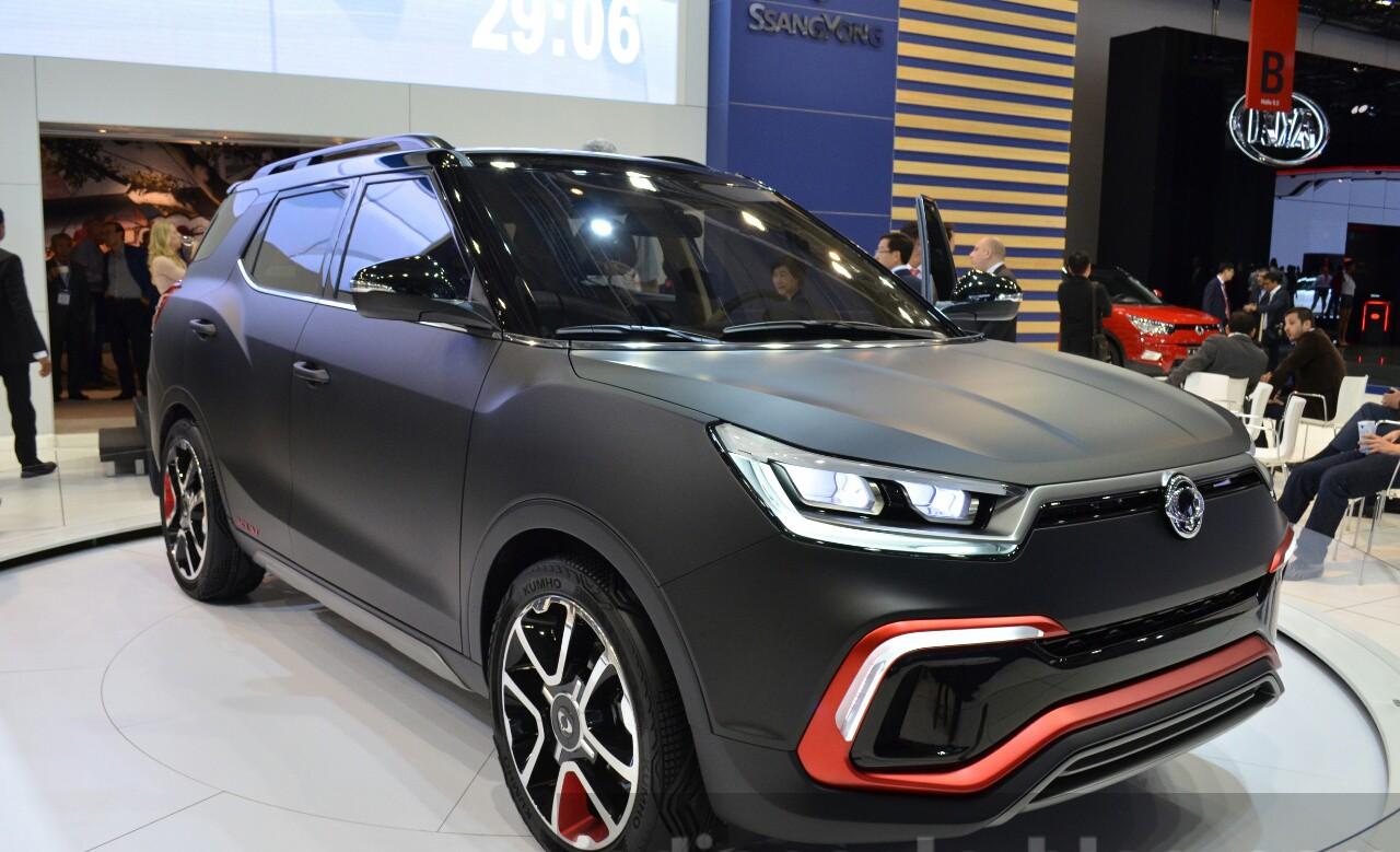 Xe++ - SsangYong sản xuất SUV chạy điện, giới thiệu vào năm 2019