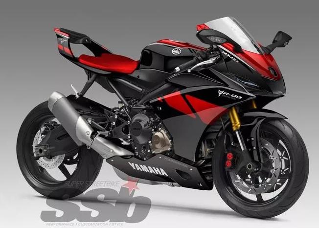 Xe++ - Yamaha hé lộ R-09 Concept – đối thủ mới của Ducati Panigale 959 (Hình 3).