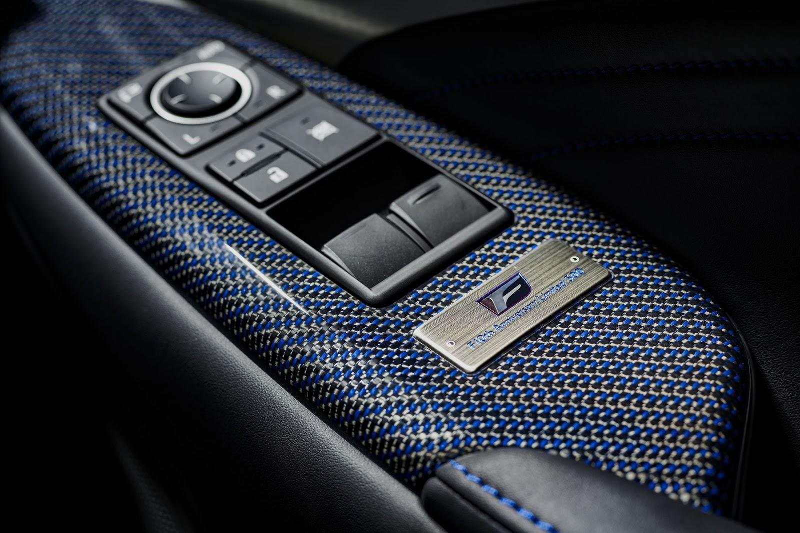 Xe++ - Lexus ra mắt hai phiên bản đặc biệt giới hạn RC F và GS F (Hình 10).