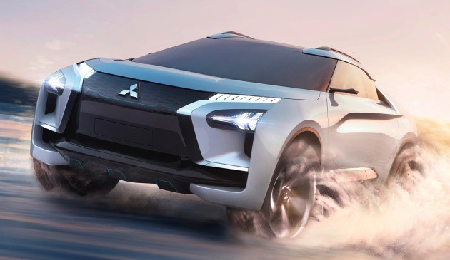 Xe++ - [Tokyo 2017] Cận cảnh chi tiết SUV công nghệ cao Mitsubishi E-Evolution Concept (Hình 2).