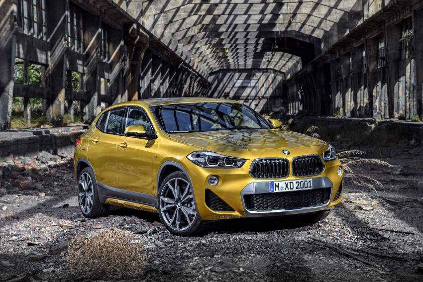 Xe++ - Crossover BMW X2 – đối thủ mới của Mercedes-Benz GLA