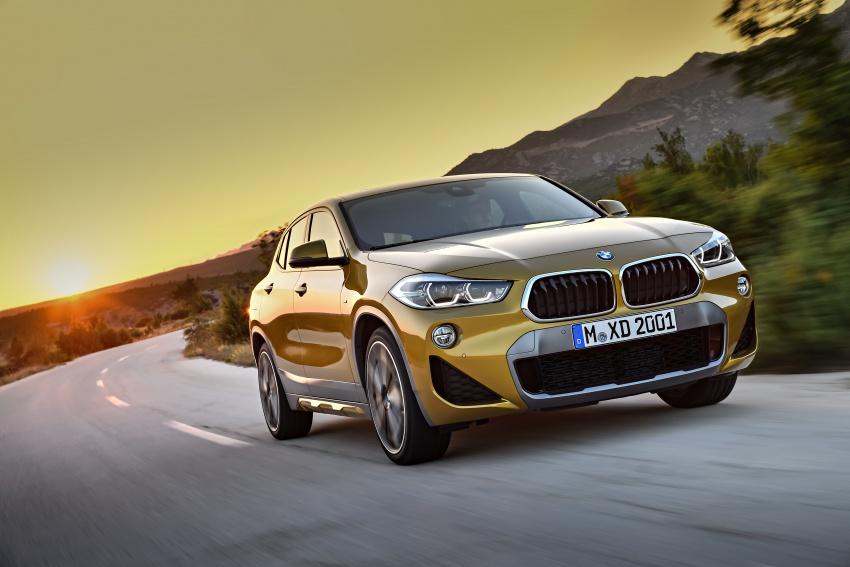 Xe++ - Crossover BMW X2 – đối thủ mới của Mercedes-Benz GLA (Hình 2).