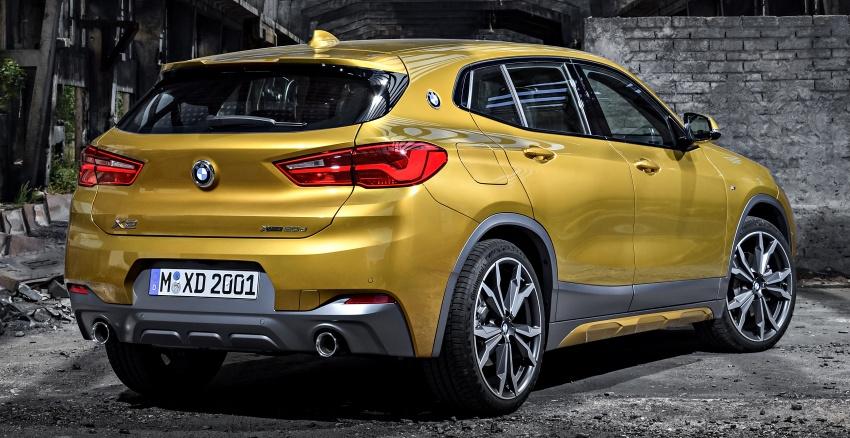 Xe++ - Crossover BMW X2 – đối thủ mới của Mercedes-Benz GLA (Hình 8).