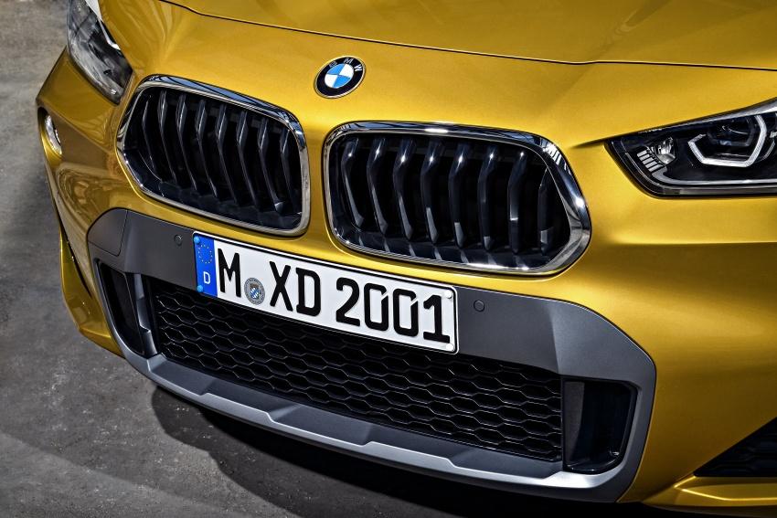 Xe++ - Crossover BMW X2 – đối thủ mới của Mercedes-Benz GLA (Hình 6).