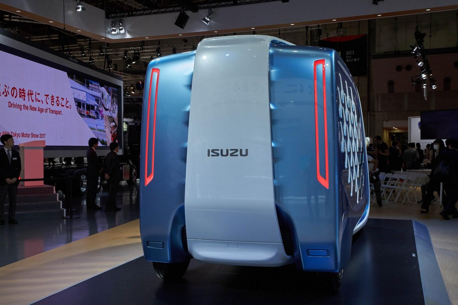 Xe++ - [Tokyo 2017] Độc đáo chiếc xe giao hàng cho tương lai FD-SI của Isuzu  (Hình 3).