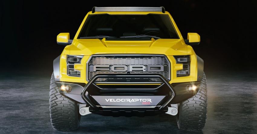 """Xe++ - """"Quái thú"""" 6 bánh VelociRaptor 6×6 sắp trình diện tại SEMA Show"""