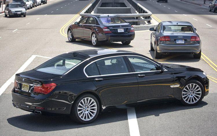 Xe++ - Sedan hạng sang Mercedes, BMW và Audi gặp khó ở Mỹ