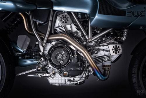 Xe++ - Mê mẩn trước Ducati MH900e Superlite màu sắc 'dị biệt' (Hình 5).
