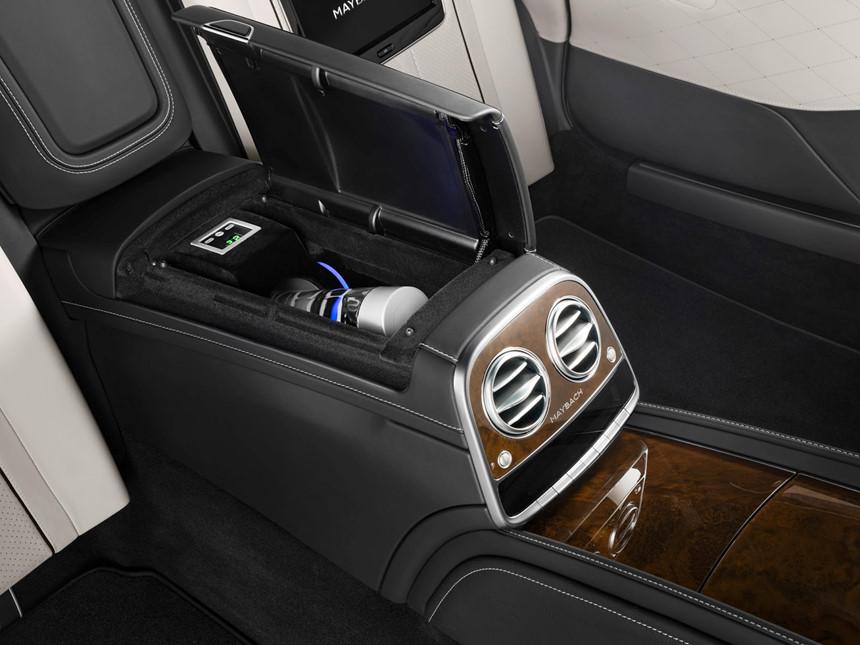 Xe++ - Mercedes-Maybach S600 Guard của Tổng thống Hàn Quốc sang trọng như thế nào? (Hình 5).
