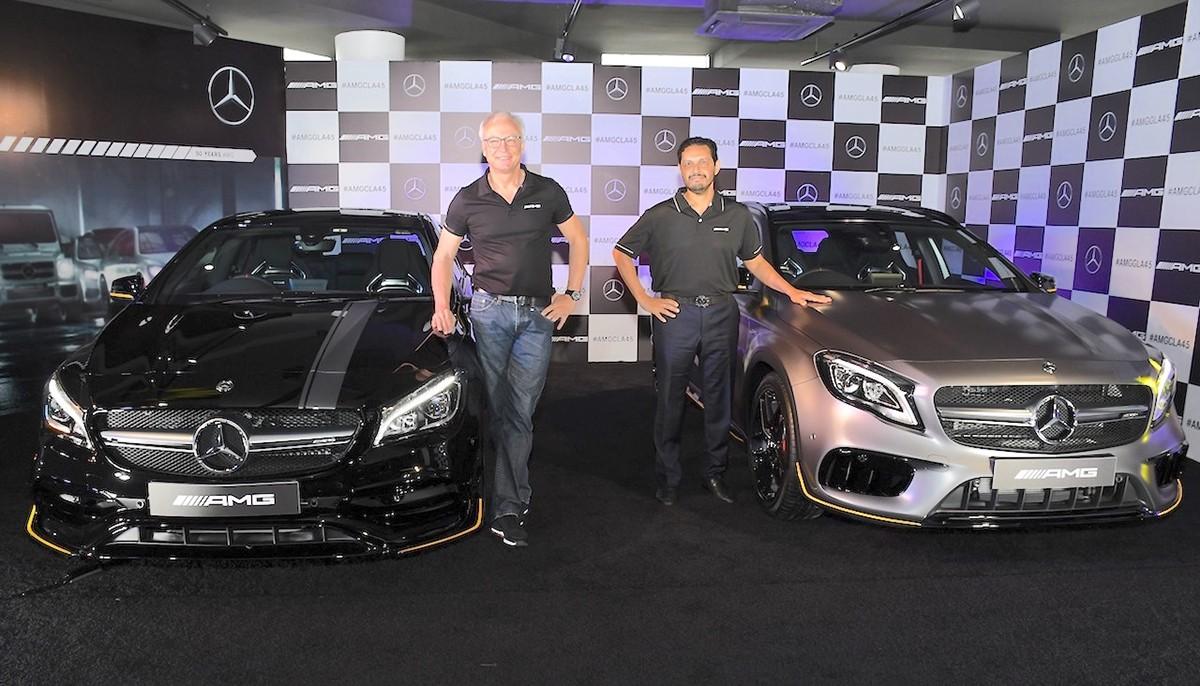 Xe++ - Mercedes-Benz ra mắt bộ đôi xe hiệu suất cao AMG CLA 45 và GLA 45