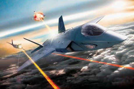 Công nghệ - Sức mạnh hủy diệt của vũ khí laser sẽ được trang bị cho máy bay Mỹ (Hình 9).