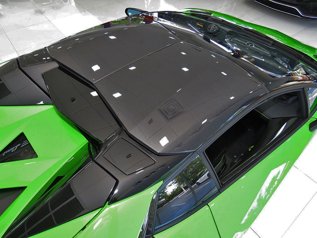 Xe++ - Lamborghini Aventador màu xanh cốm Verde Mantis độc nhất thế giới (Hình 11).