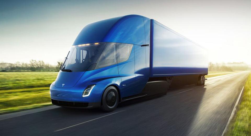 Xe++ -  Xe tải điện Tesla Semi trình làng, chạy được tới 800km/lần sạc (Hình 2).