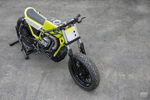 Xe++ - 'Hô biến' Moto Guzzi V9 Bobber thành flat tracker chất 'lừ' (Hình 5).