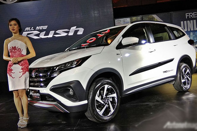 Xe++ - SUV cỡ nhỏ Toyota Rush 2018 ra mắt, có về Việt Nam?