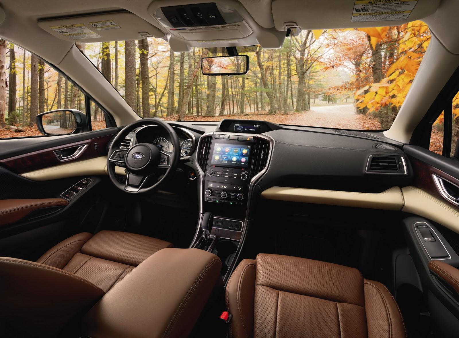 Xe++ - SUV Subaru Ascent 2019 ra mắt, cạnh tranh trực tiếp Ford Explorer  (Hình 4).