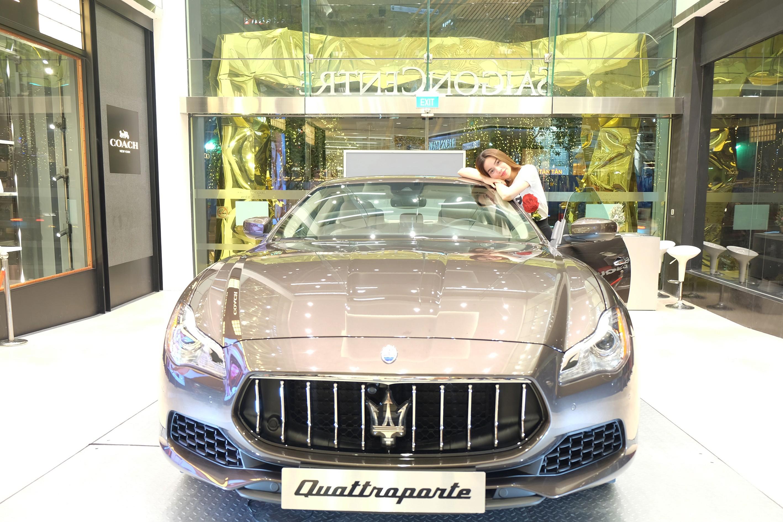 Xe++ - Ngắm Hà Hồ rực rỡ bên 'xế cưng' Maserati Quattroporte độc nhất Việt Nam (Hình 3).