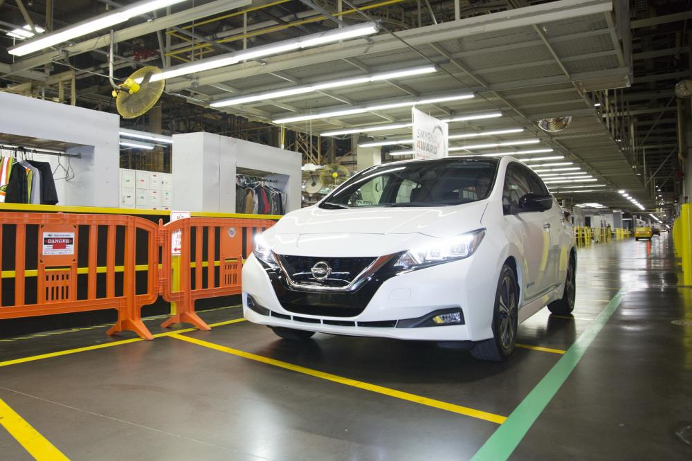 Xe++ - Nissan Leaf 2018 công bố giá bán hơn 680 triệu đồng tại Mỹ