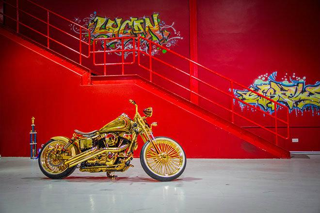 """Xe++ - Ngắm """"núi vàng di động"""" Harley Davidson Custom (Hình 10)."""