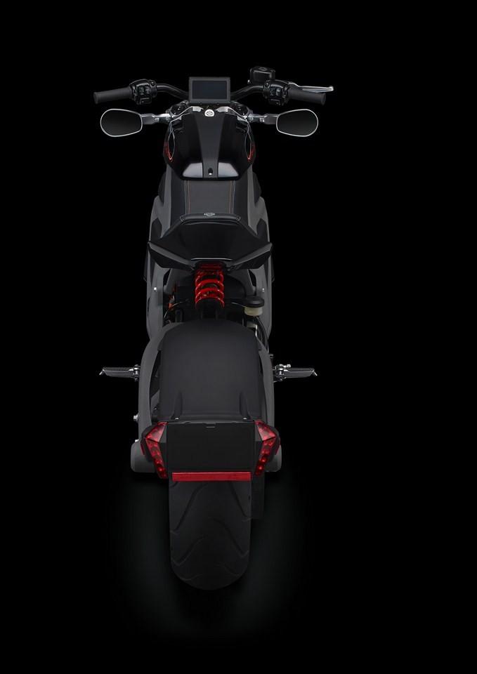 """Xe++ - Emflux Model 1 - môtô chạy điện """"nhái"""" Harley-Davidson Livewire (Hình 5)."""