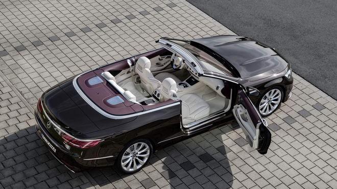 Xe++ - Mercedes-Benz S-Class Cabriolet tại thị trường Anh giá từ 3,5 tỷ đồng (Hình 8).