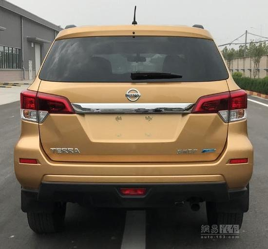 Xe++ - SUV Navara có tên gọi mới Nissan Terra tại Trung Quốc (Hình 4).