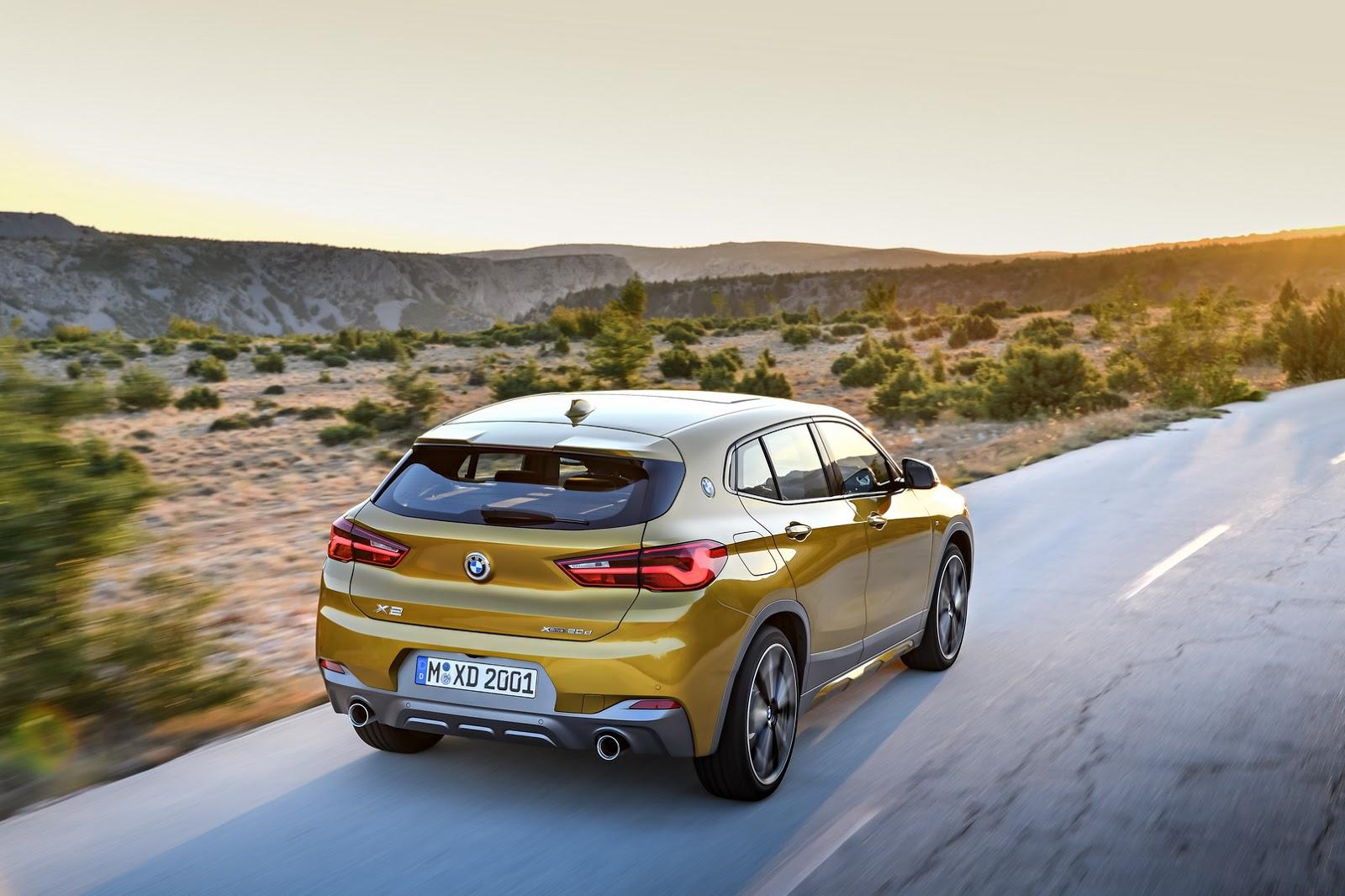 Xe++ - BMW X2 2018 có giá bán khởi điểm từ 895 triệu đồng (Hình 6).