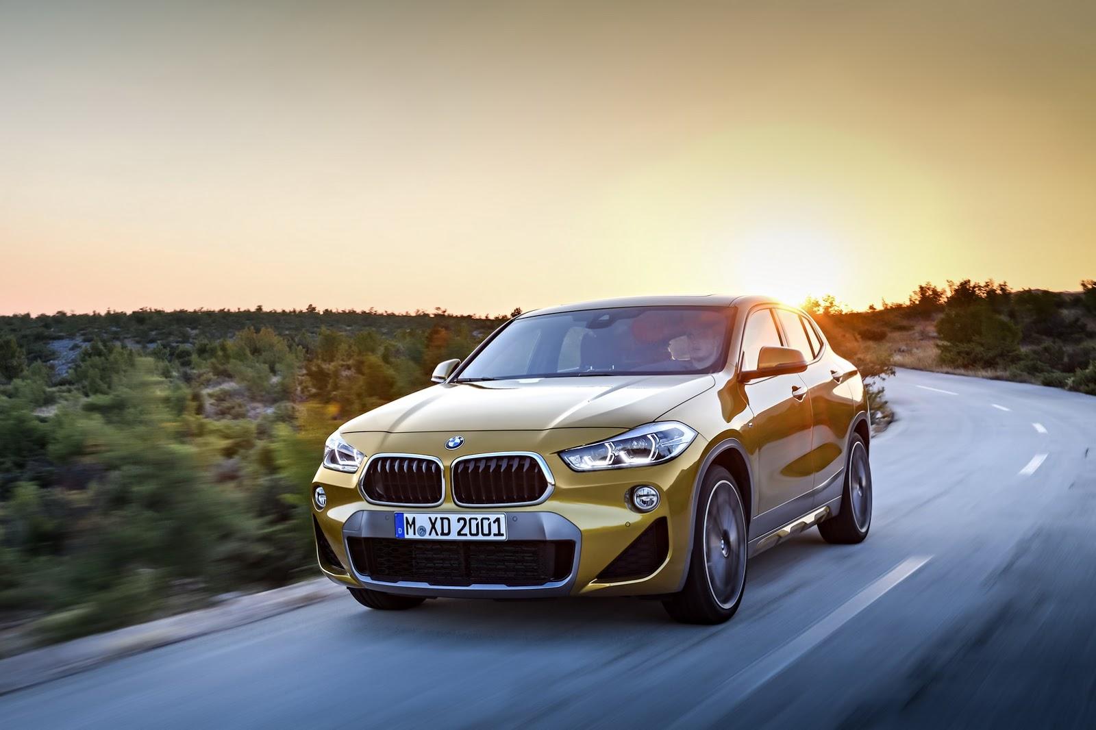 Xe++ - BMW X2 2018 có giá bán khởi điểm từ 895 triệu đồng