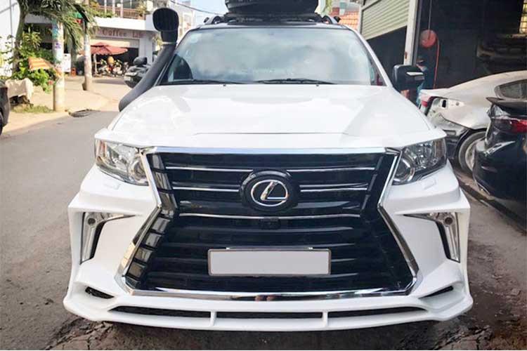 Xe++ - Toyota Fortuner độ xe sang Lexus LX570 tại Hà Nam (Hình 6).