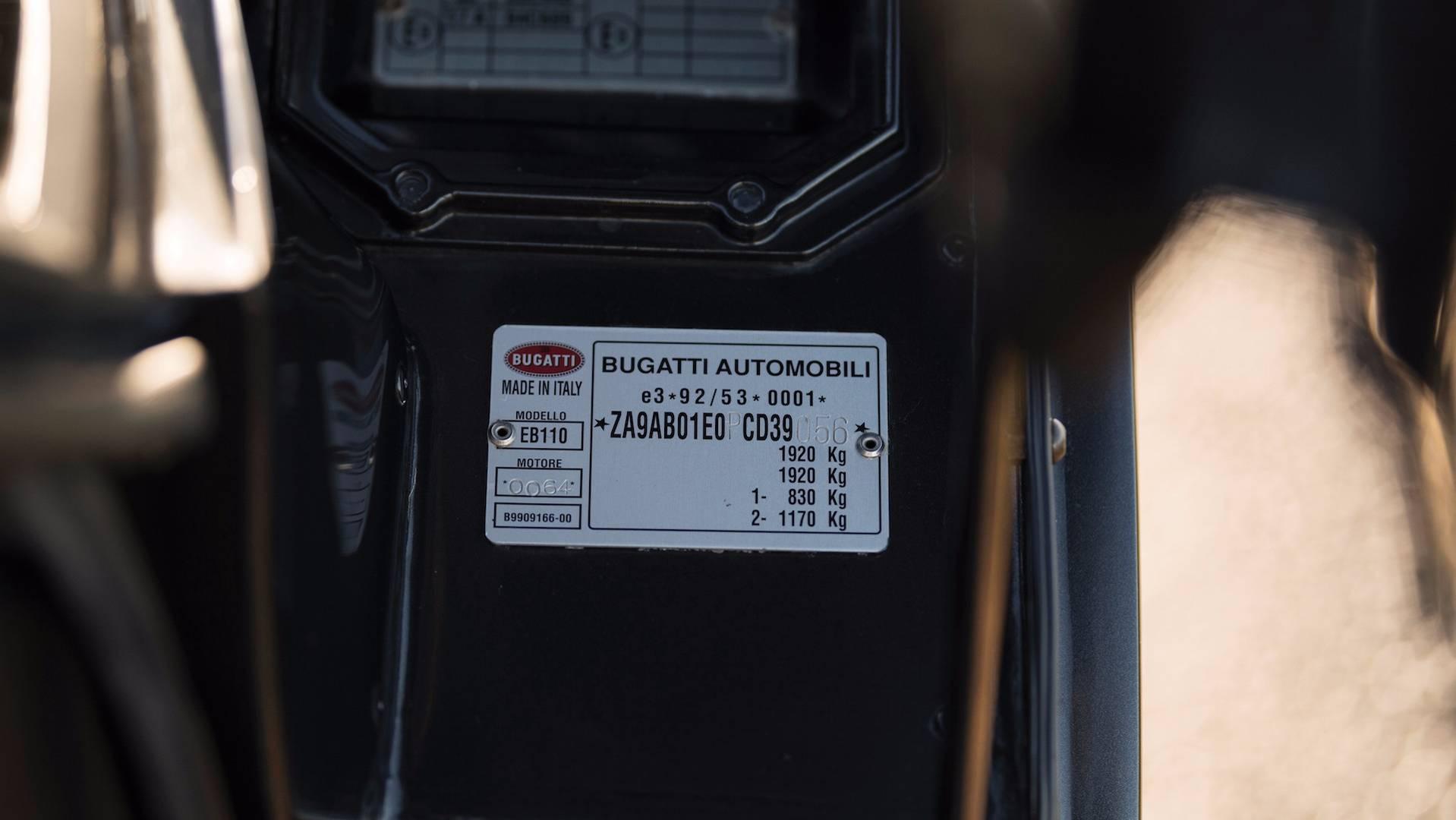 """Xe++ - """"Hàng hiếm"""" Bugatti EB110 GT hơn 21 tỷ đồng lên sàn đấu giá (Hình 16)."""