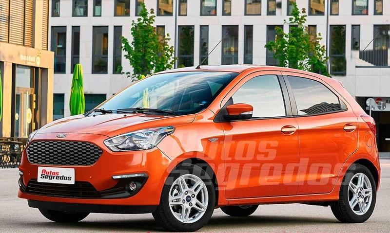 """Thị trường xe - Ford Figo 2018 rục rịch """"lên sàn"""", đối đầu Hyundai i10"""