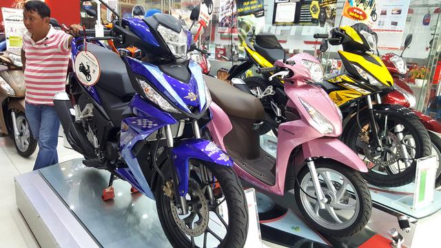 Bảng giá xe - Bảng giá xe máy Honda tháng 1/2018: Nhiều mẫu xe tăng chóng mặt
