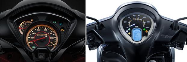 Đánh giá xe - Honda Vision và Yamaha Janus, lựa chọn xe tay ga nào chơi Tết? (Hình 2).