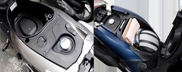 Đánh giá xe - Honda Vision và Yamaha Janus, lựa chọn xe tay ga nào chơi Tết? (Hình 4).