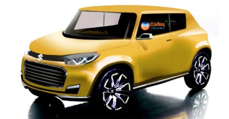 Thị trường xe - Maruti  Suzuki Future S – xe giá rẻ hoàn toàn mới cạnh tranh Renault Kwid (Hình 2).