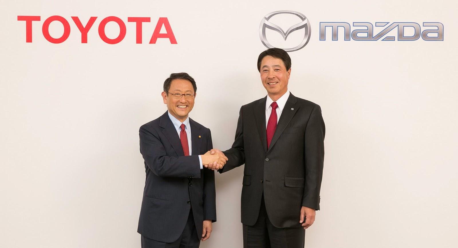 """Thị trường xe - Toyota """"bắt tay"""" Mazda xây dựng nhà máy trị giá 1,6 tỷ đô la"""