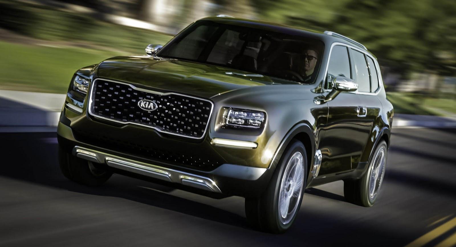Thị trường xe - SUV Kia Telluride – đẹp như Rolls-Royce, sang hơn Bentley (Hình 2).
