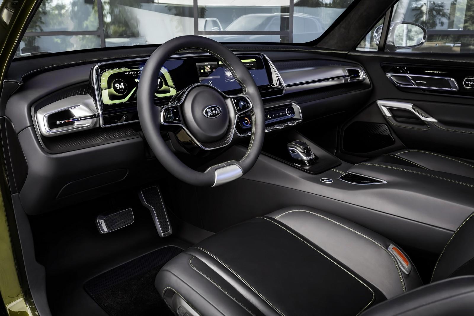 Thị trường xe - SUV Kia Telluride – đẹp như Rolls-Royce, sang hơn Bentley (Hình 7).