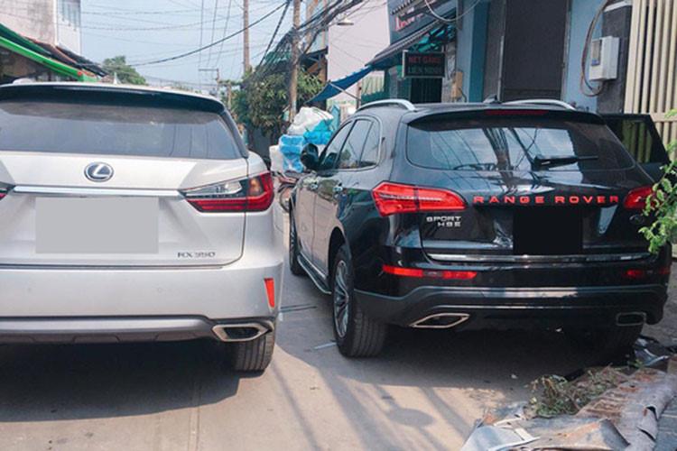 Thú chơi xe - Chi tiết Range Rover 'nhái' giá 670 triệu tại Sài Gòn (Hình 3).
