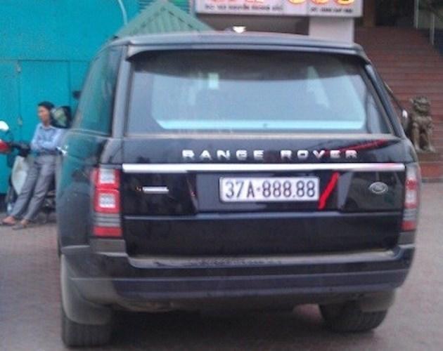 """Thú chơi xe - SUV hạng sang Range Rover """"biển khủng"""" của đại gia Việt (Hình 6)."""