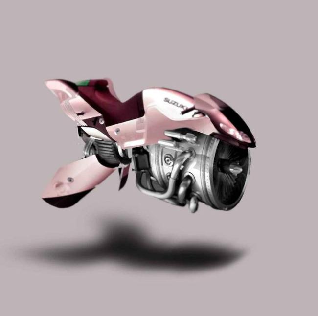 Thú chơi xe - Những mẫu môtô bay quái dị nhất hành tinh (Hình 11).