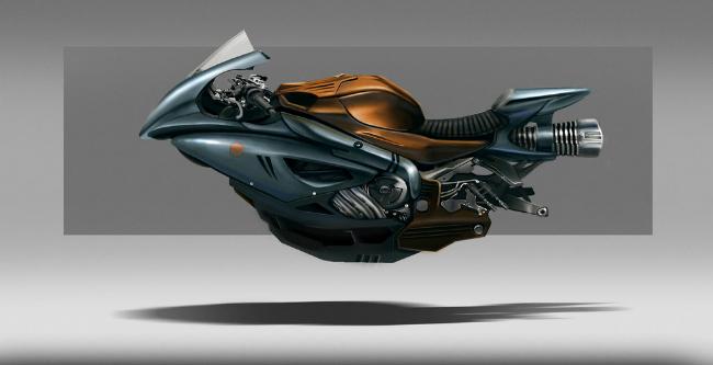 Thú chơi xe - Những mẫu môtô bay quái dị nhất hành tinh (Hình 3).