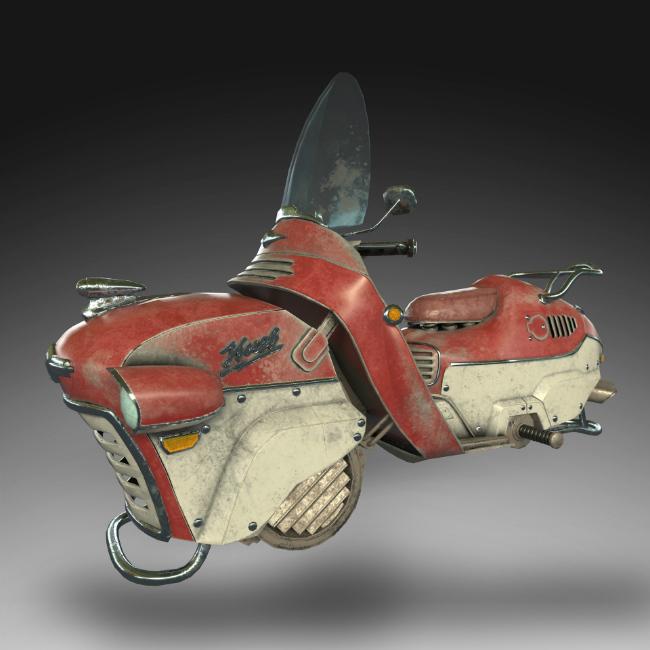 Thú chơi xe - Những mẫu môtô bay quái dị nhất hành tinh (Hình 4).