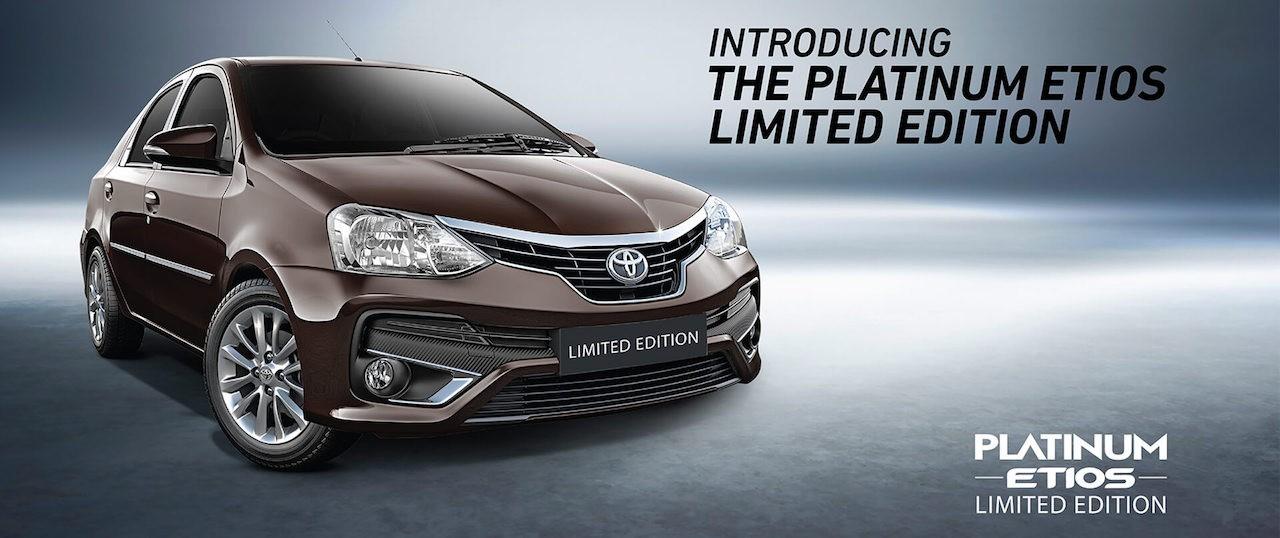 Thị trường xe - Toyota Platinum Etios Limited Edition - Hàng thửa cho khách Ấn