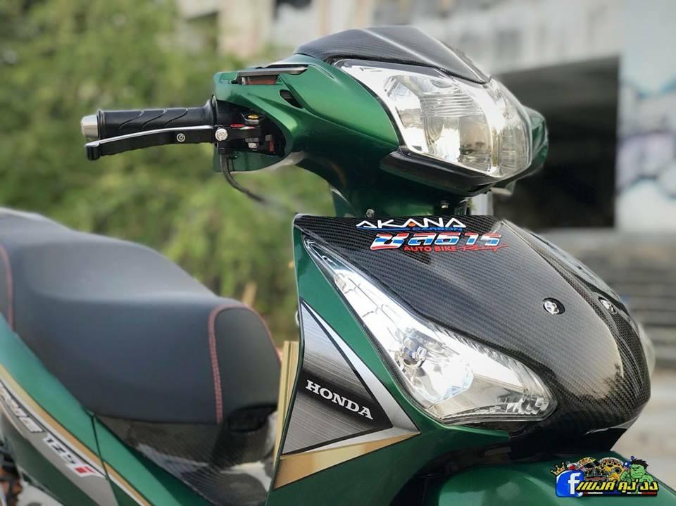 Thú chơi xe - Honda Wave 125i độ đầy cá tính của biker xứ sở Chùa Vàng (Hình 2).