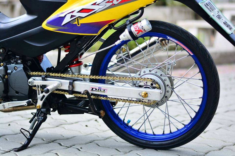 Thú chơi xe - Honda Sonic 125 độ cực chất của biker 'xứ Chùa Vàng' (Hình 6).