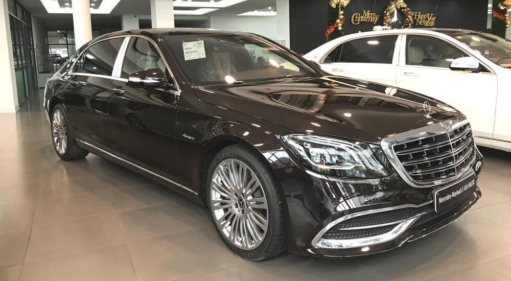 Thị trường xe - Mercedes-Maybach S450 đại gia Thanh Hóa tặng vợ có gì ấn tượng? (Hình 8).