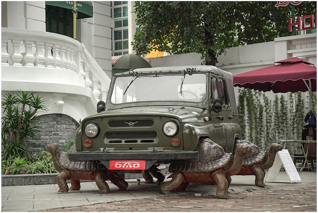 Thú chơi xe - Ngỡ ngàng bộ đôi xe UAZ, Ural dẫn động bằng... rùa tại Việt Nam (Hình 9).