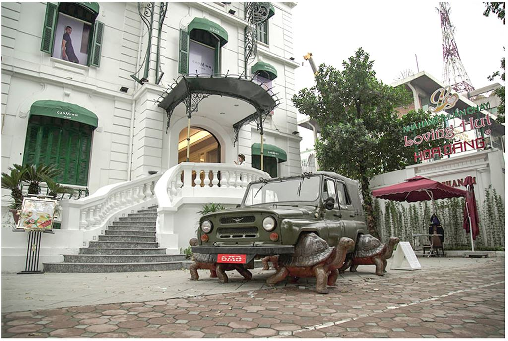Thú chơi xe - Ngỡ ngàng bộ đôi xe UAZ, Ural dẫn động bằng... rùa tại Việt Nam (Hình 7).