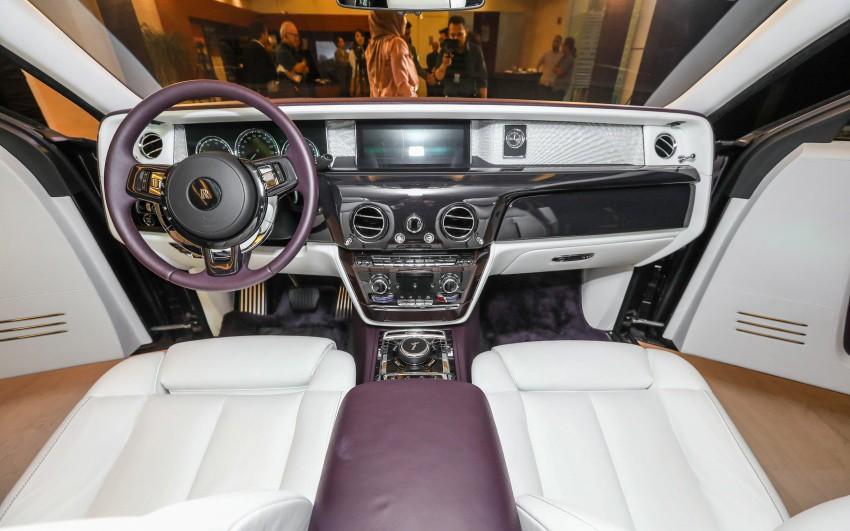 Thị trường xe - Xe siêu sang Rolls-Royce Phantom 2018 đầu tiên về Việt Nam (Hình 6).